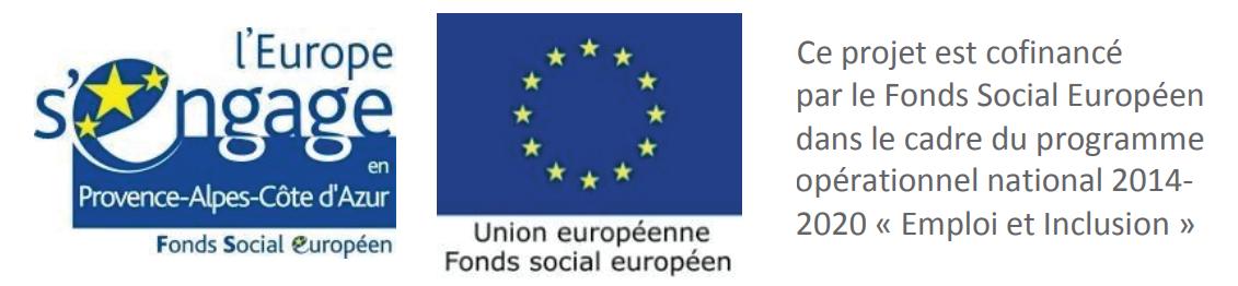 Logos Fonds Social Européen