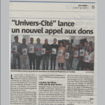 Article de journal du 1 Juin 2017