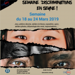 Affiche Semaine de la discrimination